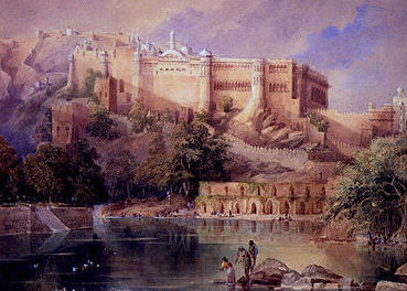 History pic of Amber fort, Jaipur